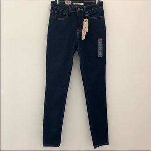 Levi's NWT 721 High Rise Skinny Pinup Style Jeans